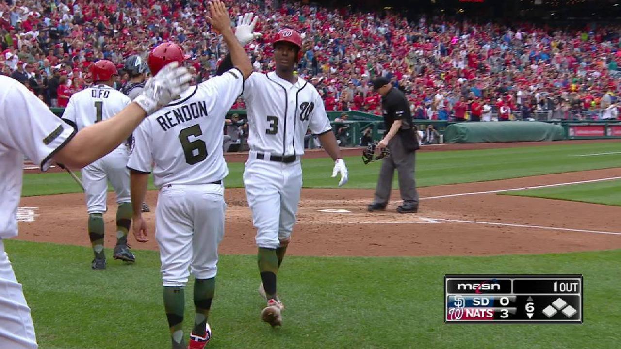 Taylor's two-run homer