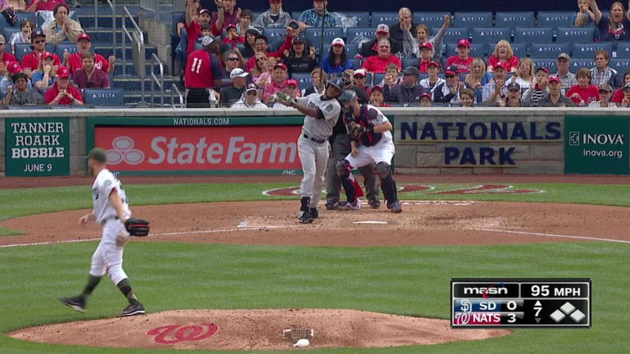 Strasburg collects his 15th K