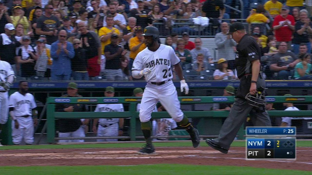 Cutch swinging hot bat after pushing reset