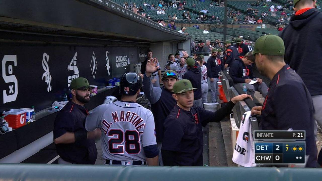 J.D. Martinez's sacrifice fly