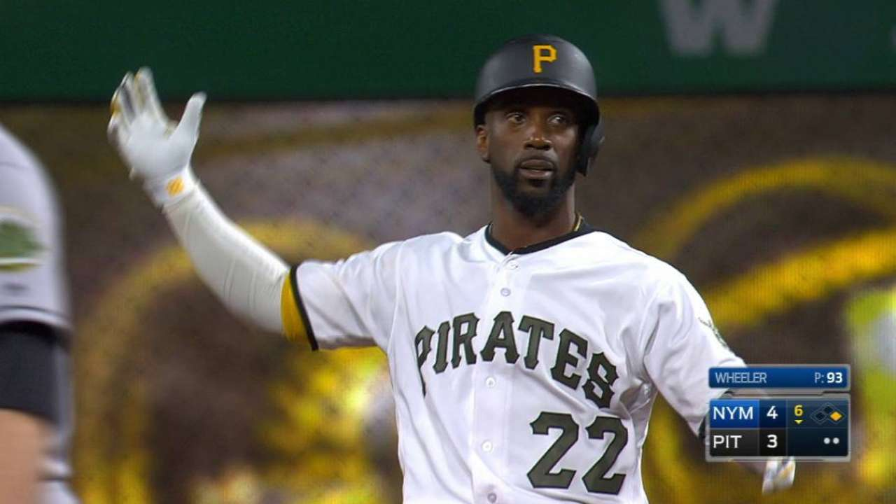 McCutchen's RBI double