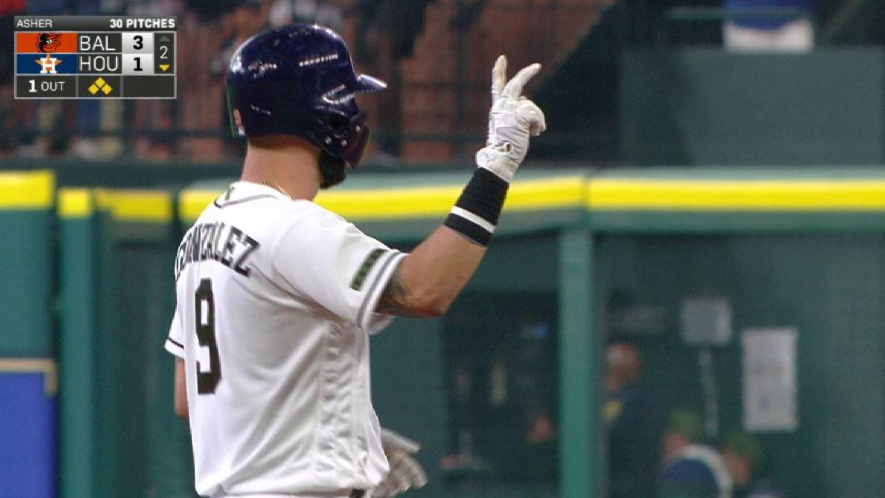 6-run frame propels Astros to sweep of O's