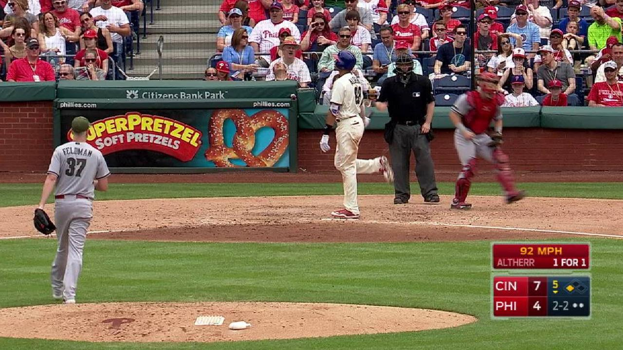 Feldman's 5th-inning K