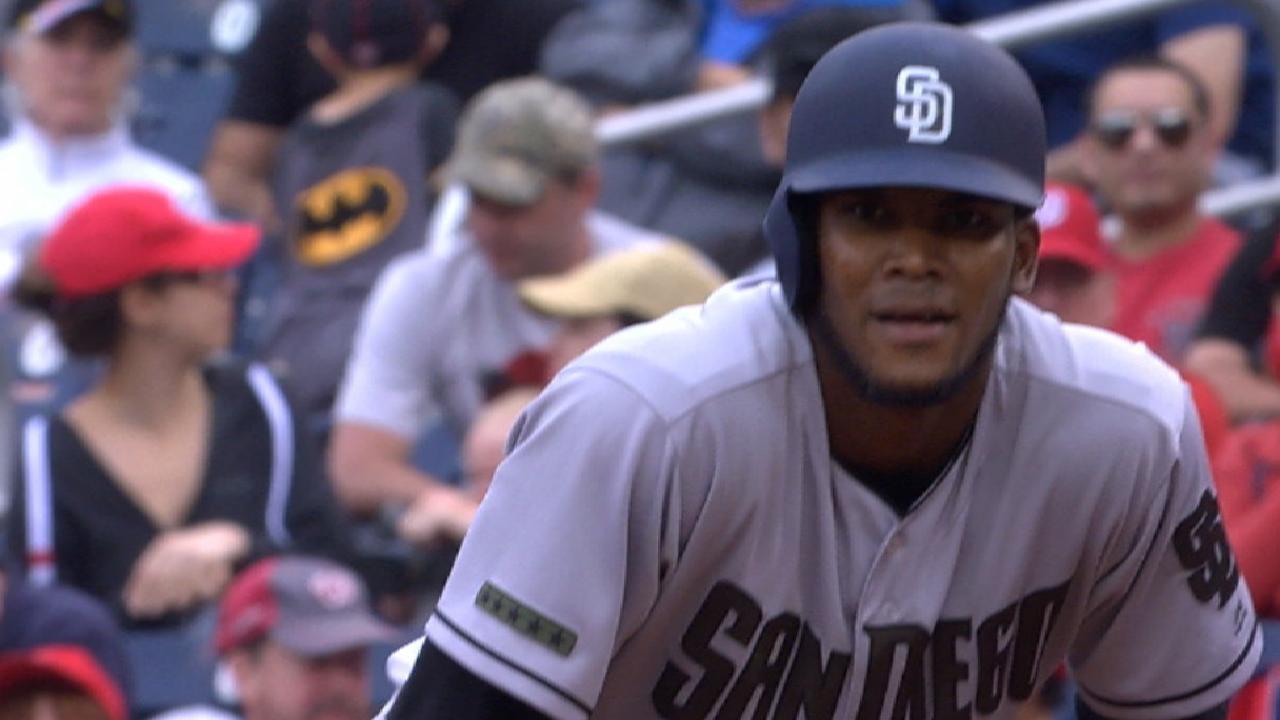 Cordero's first MLB knock