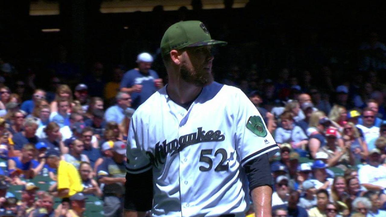 Nelson's 400th strikeout
