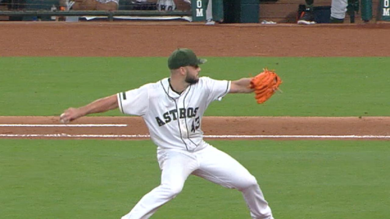 McCullers Jr.'s strong start
