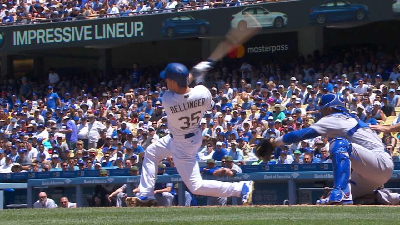 Cody Bellinger el más rápido en llegar a 10 HR en Dodgers