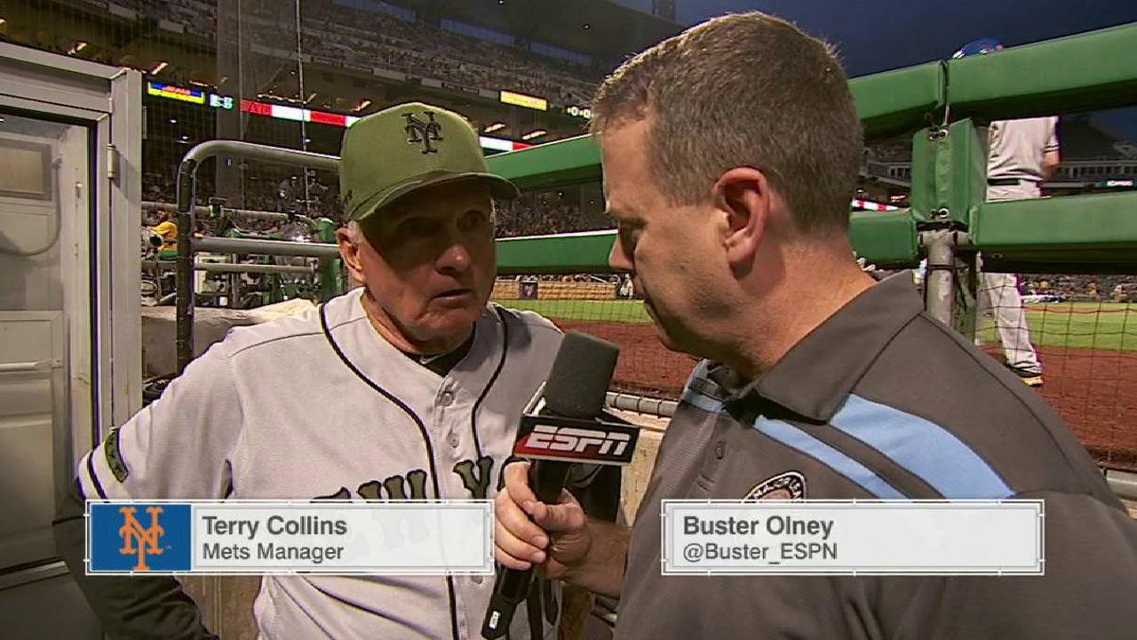 Collins on Harvey's outing