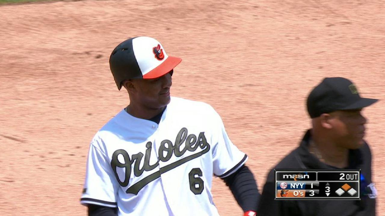Schoop's two-run double