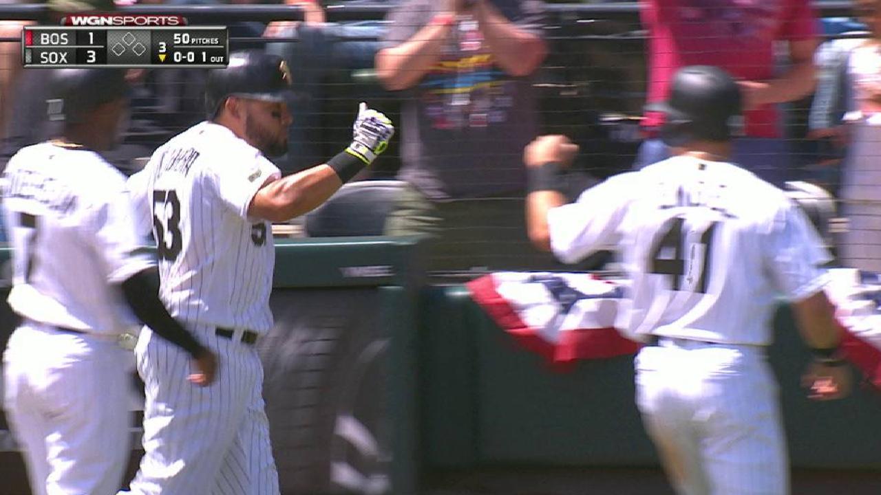 Cabrera's three-run home run
