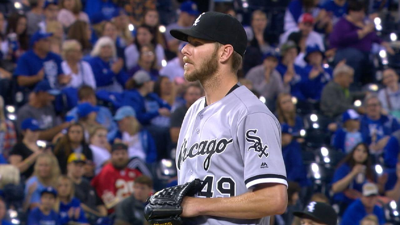 Sale on facing the White Sox