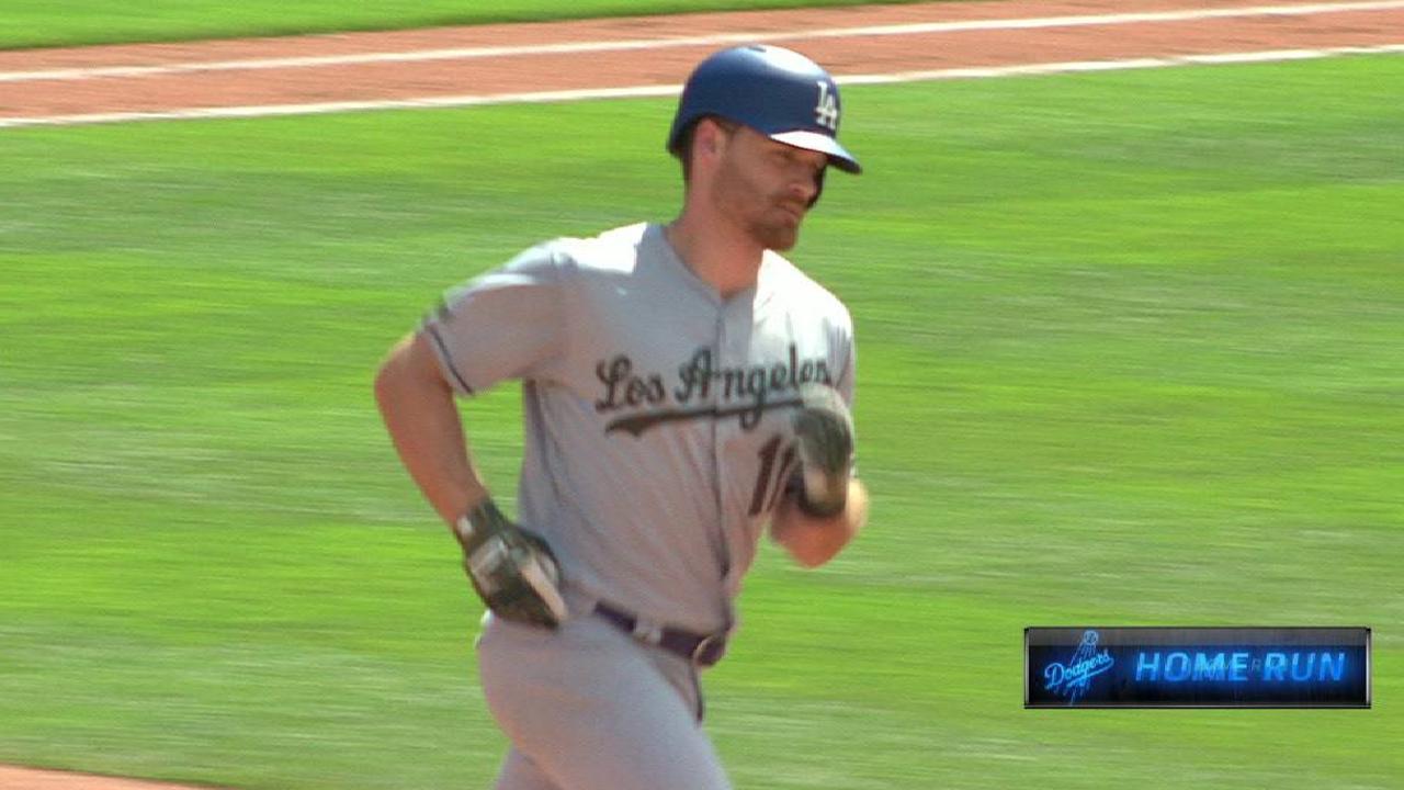 Forsythe's solo home run