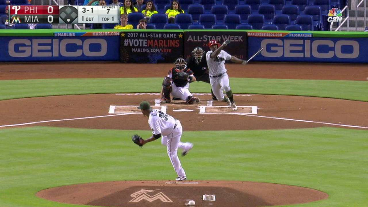 Phillies activate Kendrick before Miami opener