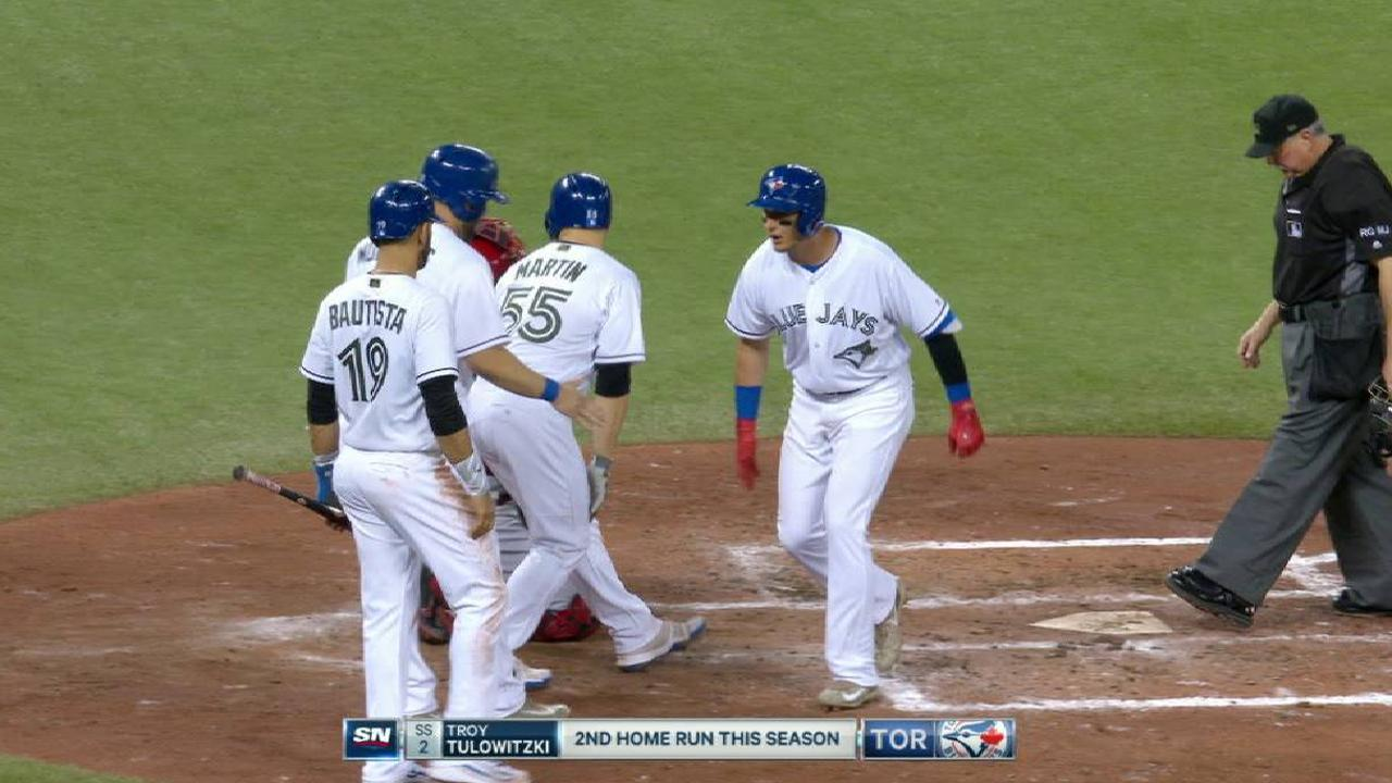 Tulo's grand slam to left field