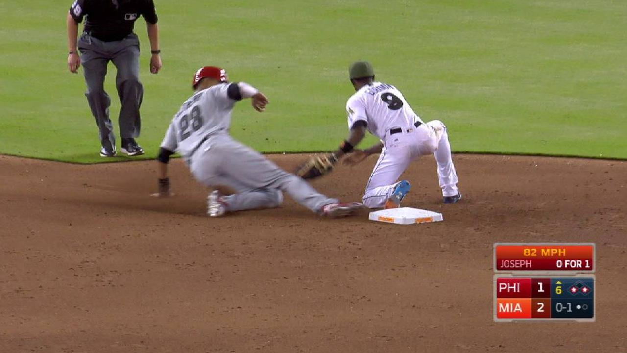 Realmuto nabs Altherr at second