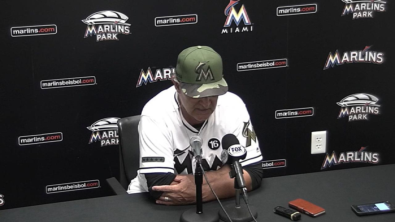 Mattingly on Volquez's outing