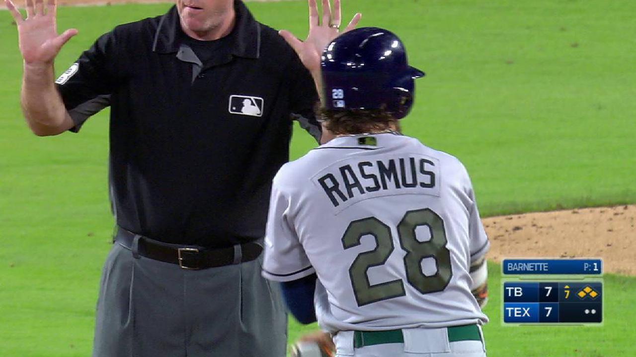 Rasmus' two-run double
