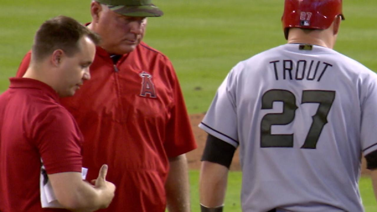 Trout elects surgery, out 6-8 weeks