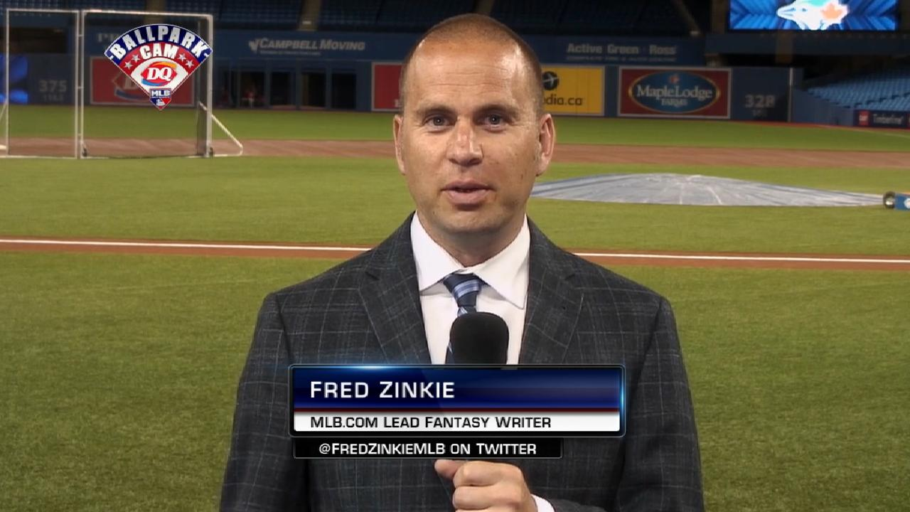 Fred Zinkie on fantasy moves