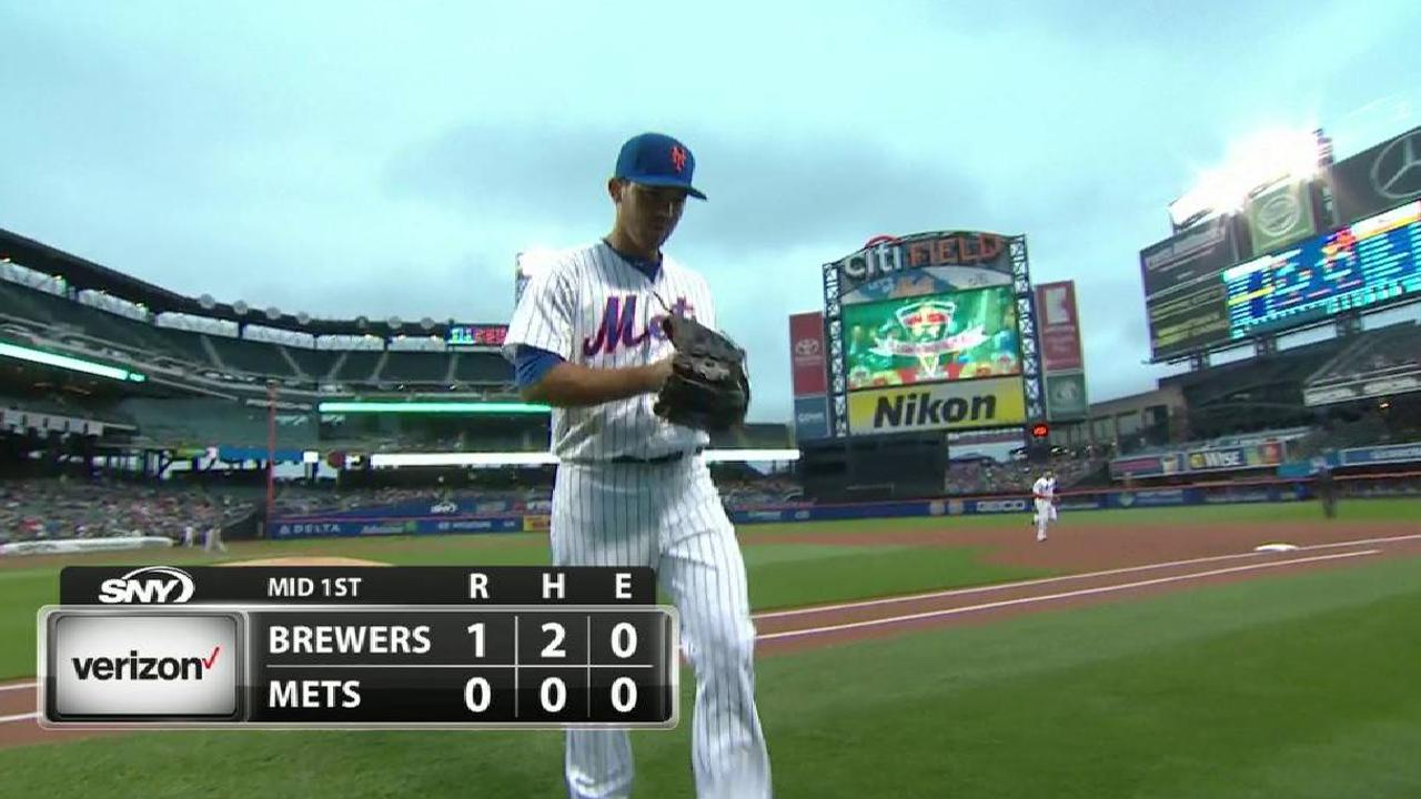 Pill's first career strikeout
