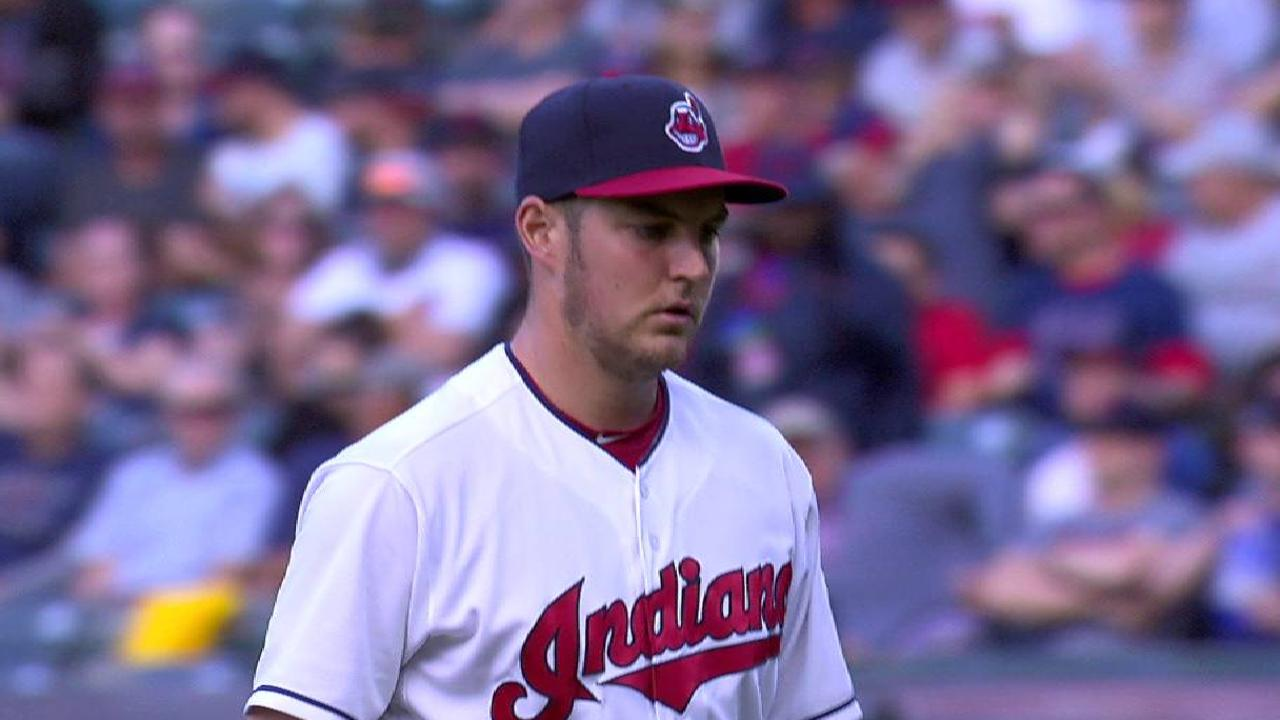 Bauer fans three in the 5th