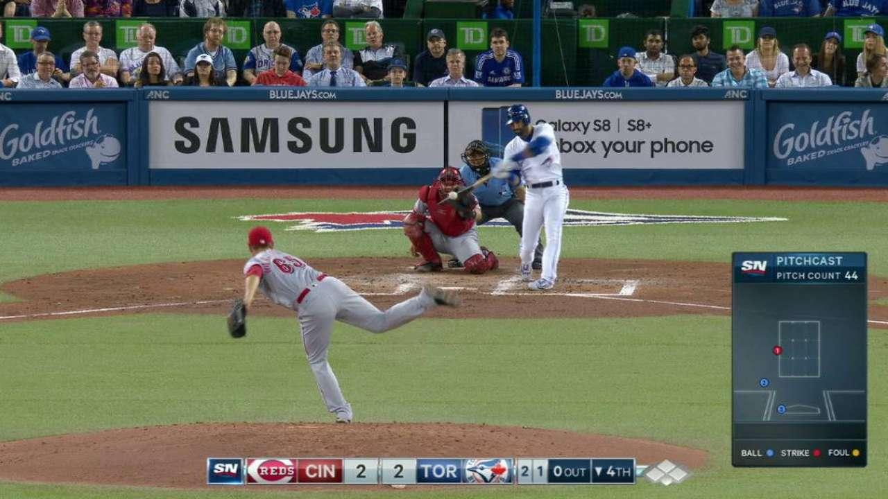 Bautista's solo home run