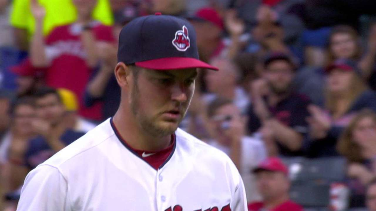 Bauer's 14th K for career high