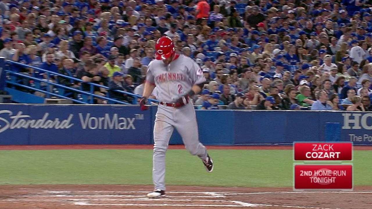 Cozart's second home run