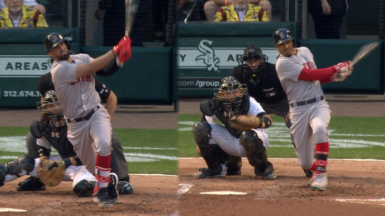 Red Sox hit six HRs to power past White Sox