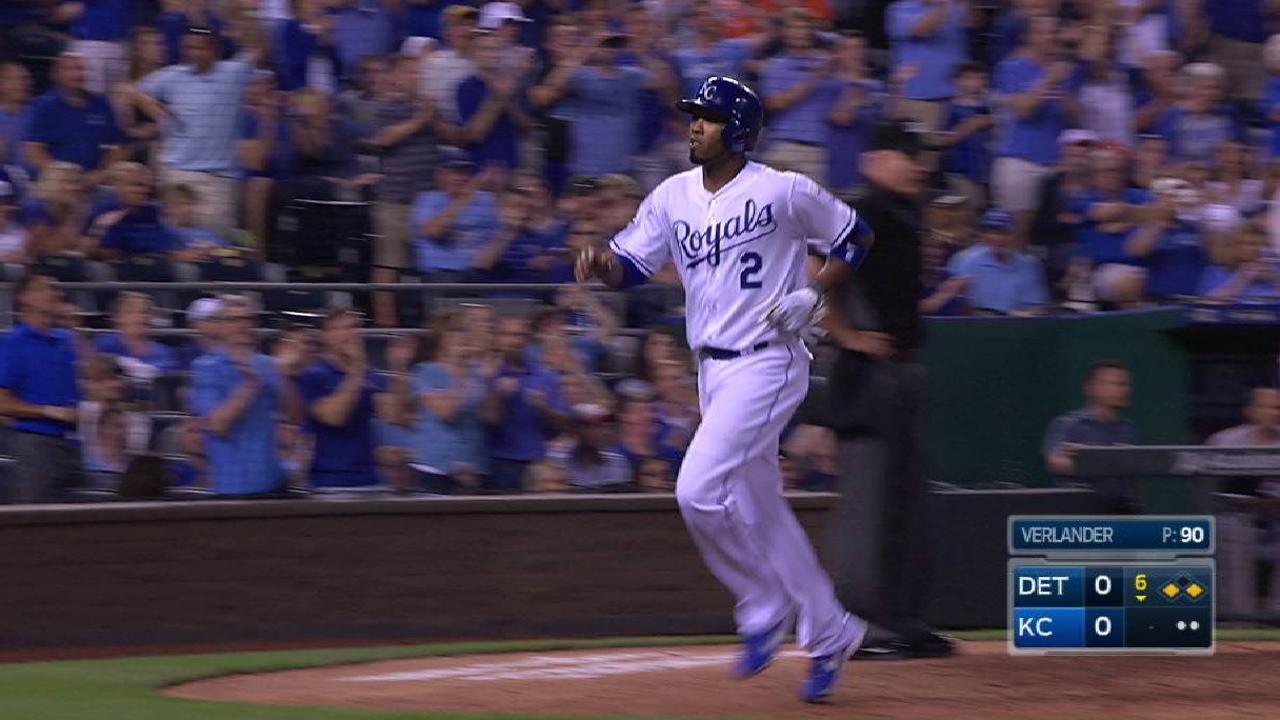 Hos' clutch single pushes Royals past Tigers
