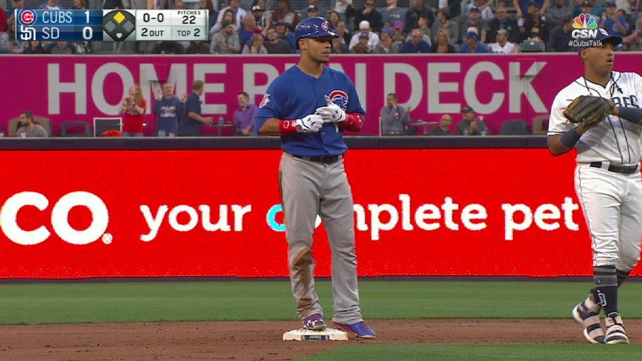 Contreras' RBI double