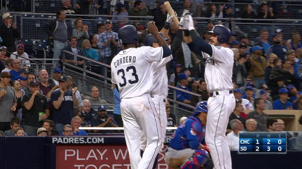Hedges' two-run homer