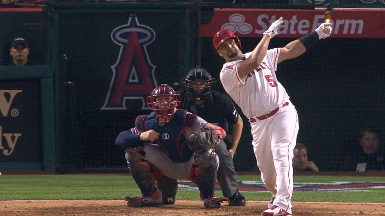 Pujols' 599th home run