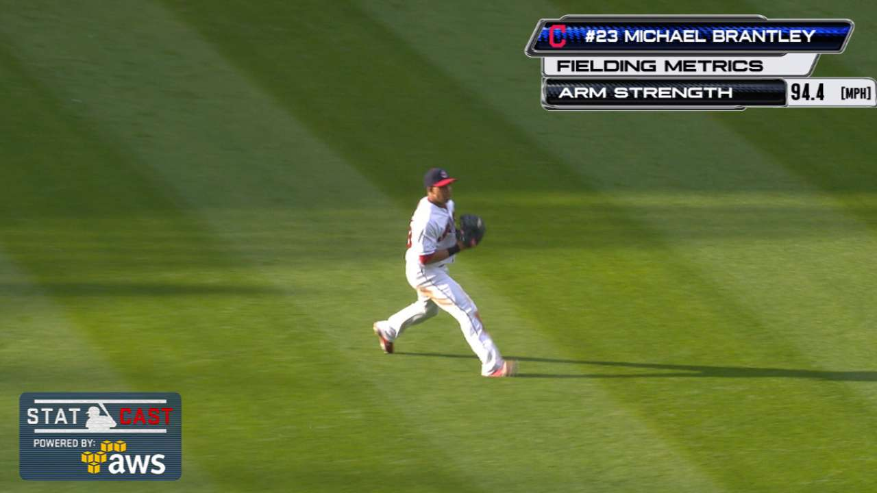 Brantley to paternity list; Tribe bolsters 'pen