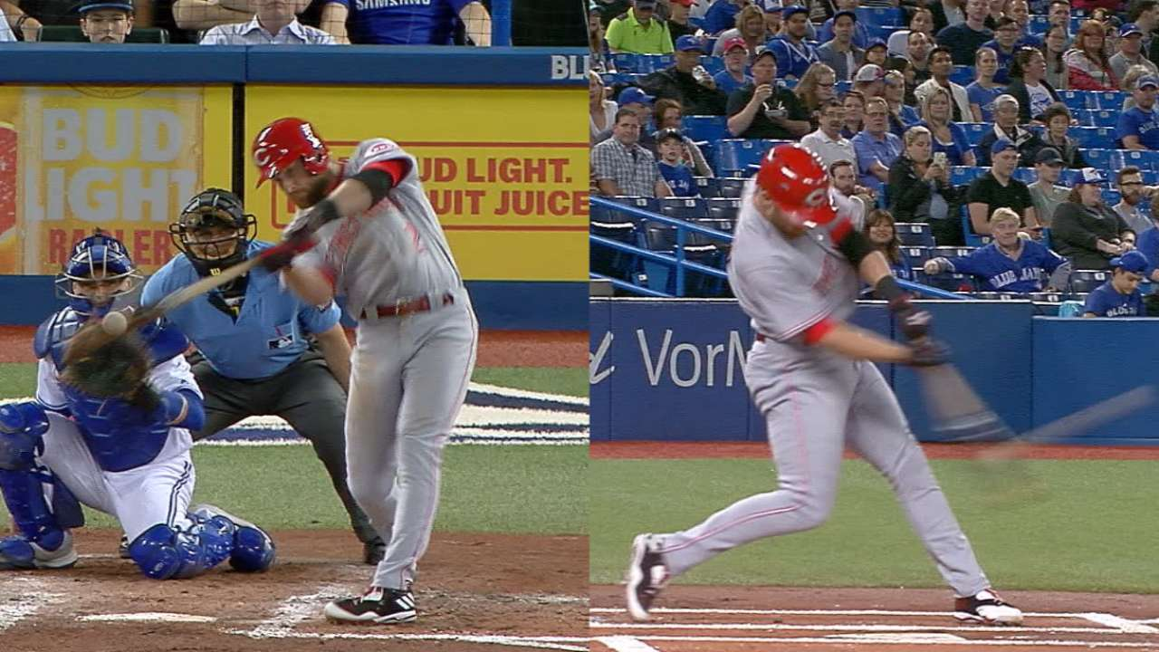 Cozart's two-homer game