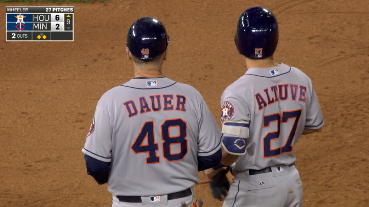 Altuve's four-hit game