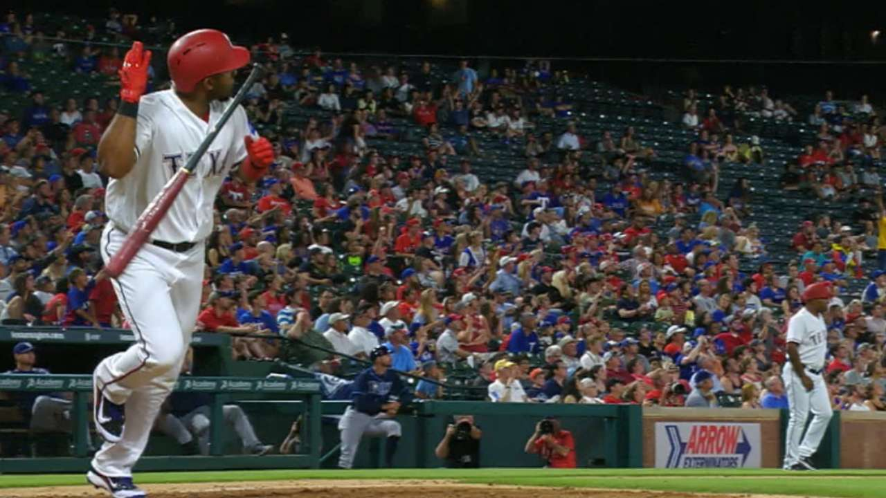 Andrus' monster day at the plate