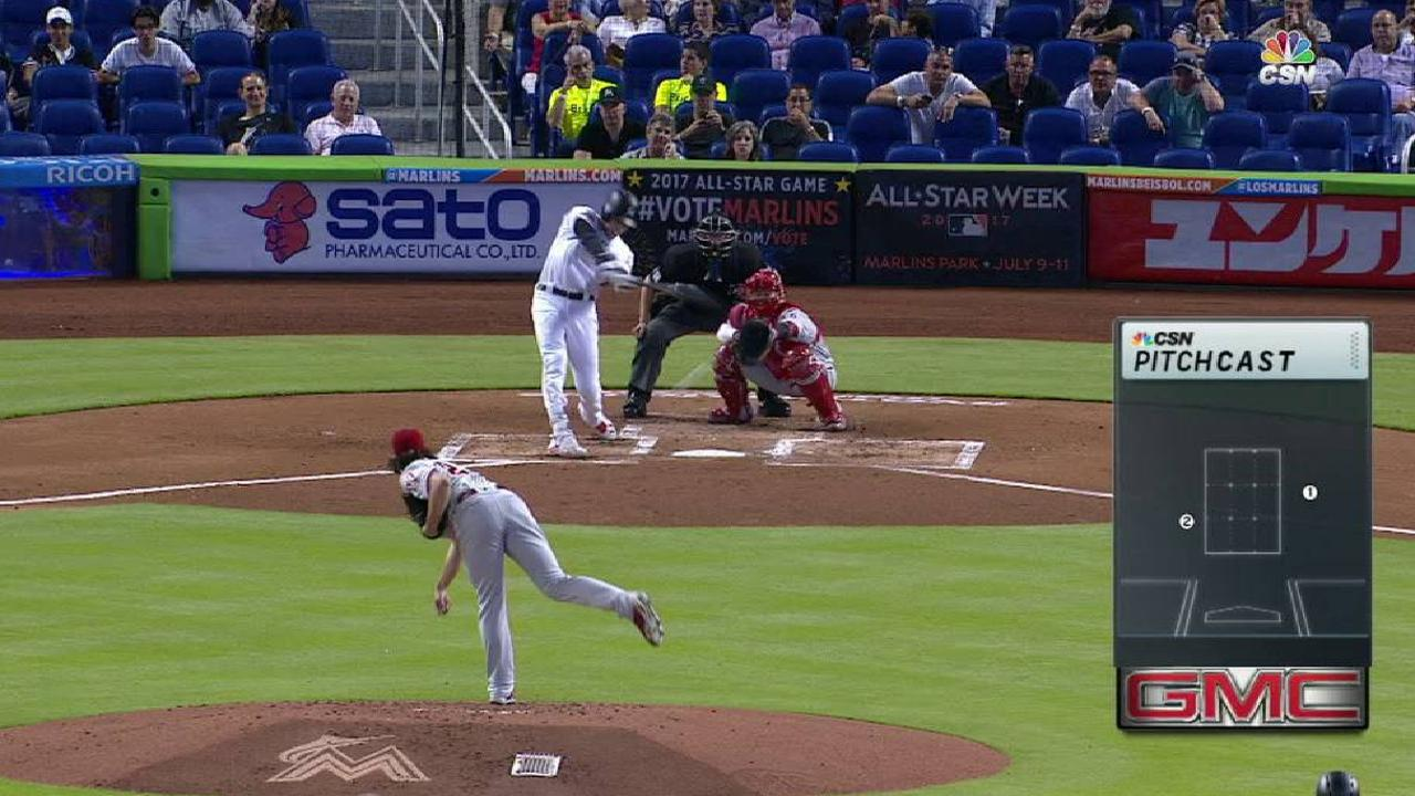 Yelich's RBI single