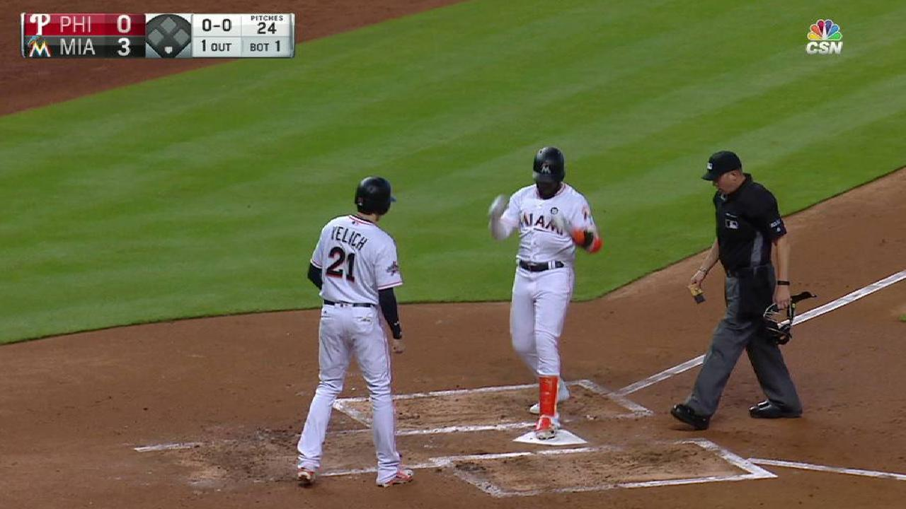 Ozuna's two-run homer