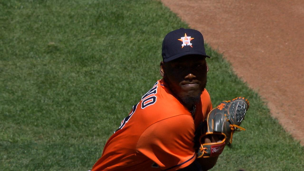 Paulino's eight-strikeout start