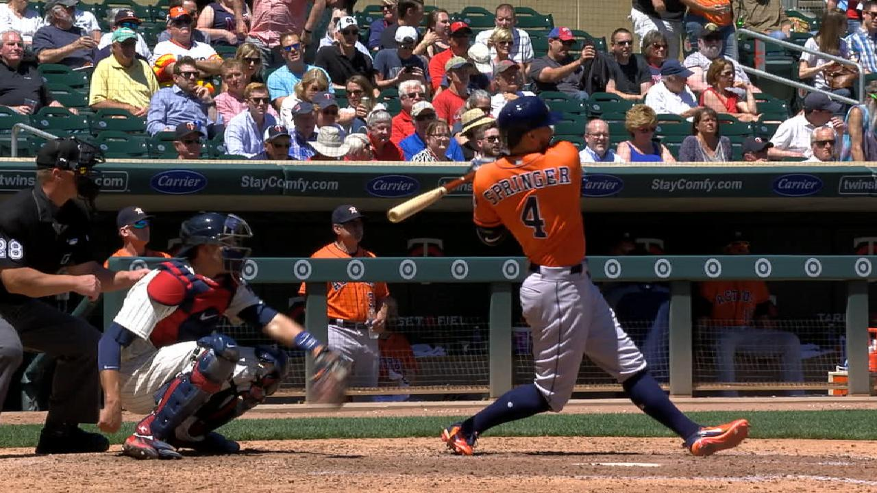 Must C: Springer's two homers