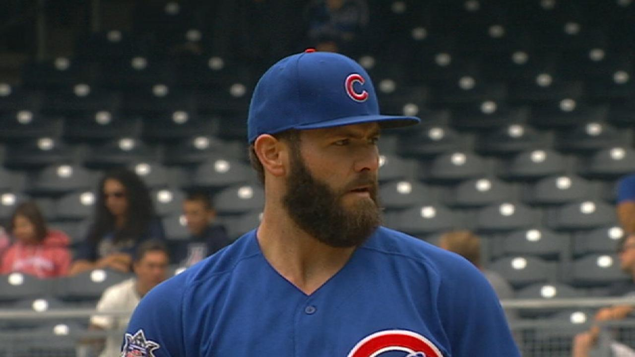 Arrieta focused on big picture after rough trip