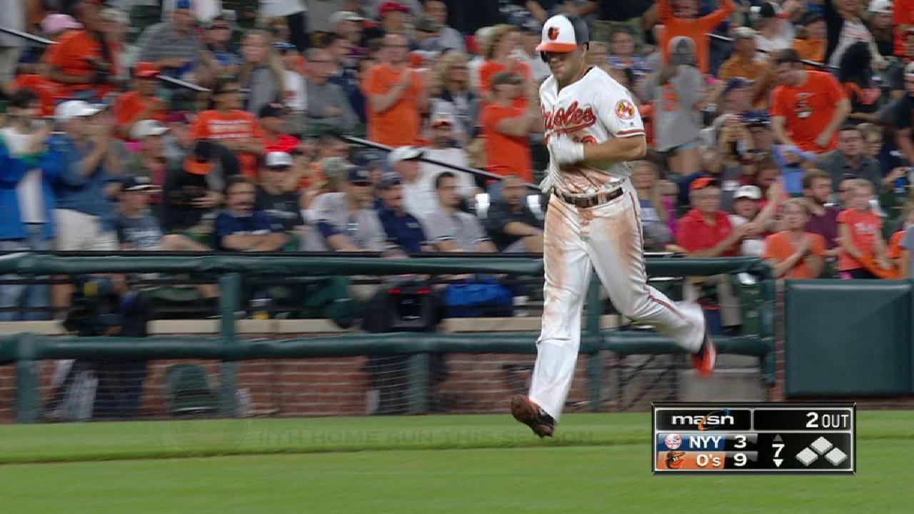 Davis' two-run home run