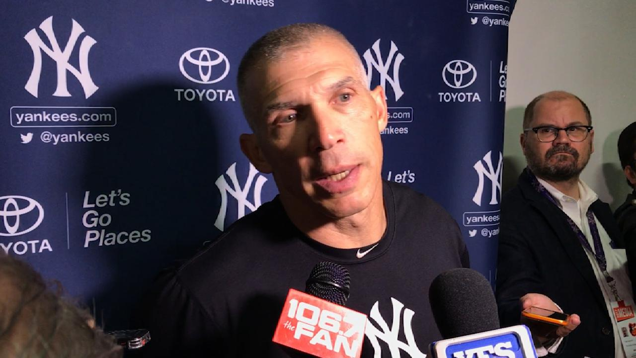 Girardi on 10-4 loss to Orioles