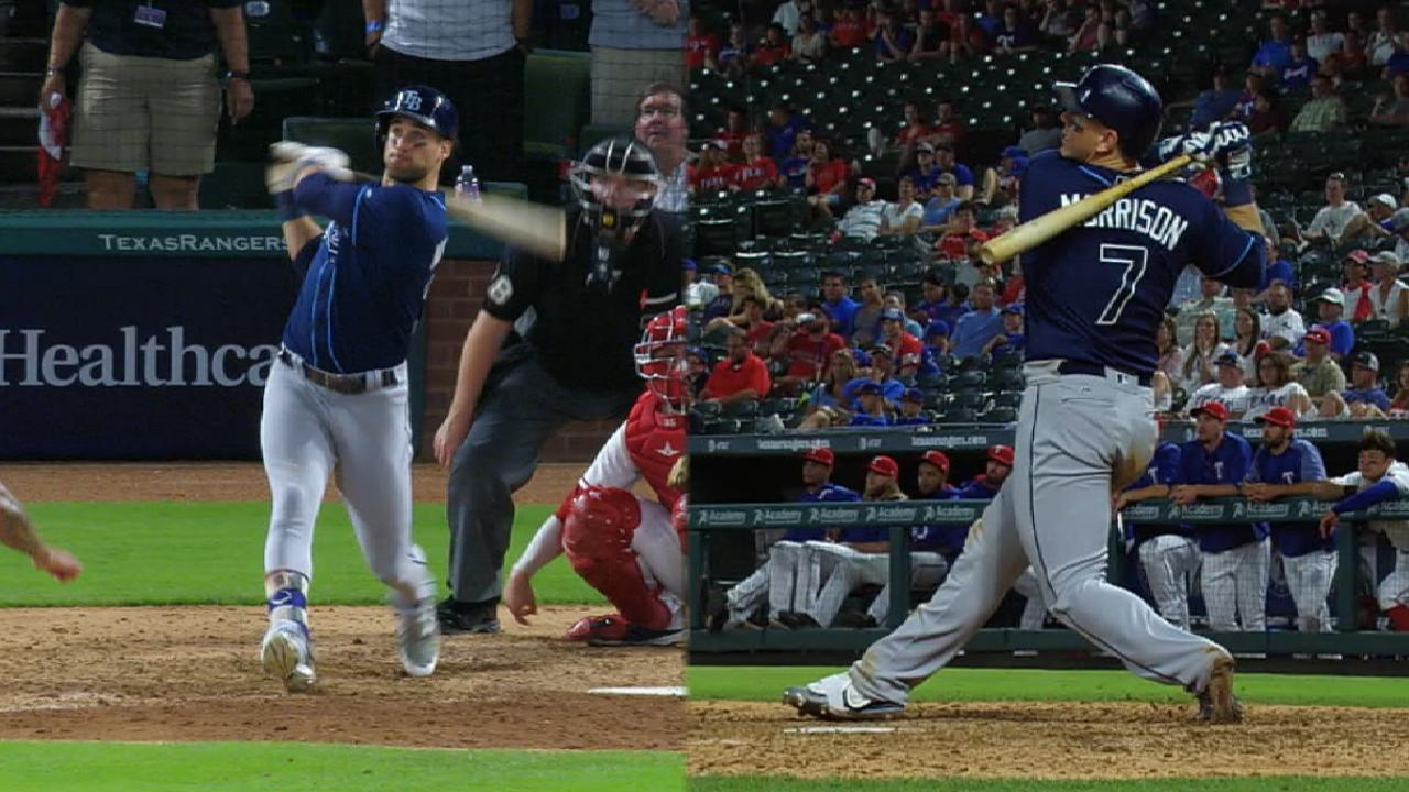 Pair of HRs in 10th lifts Rays to series win