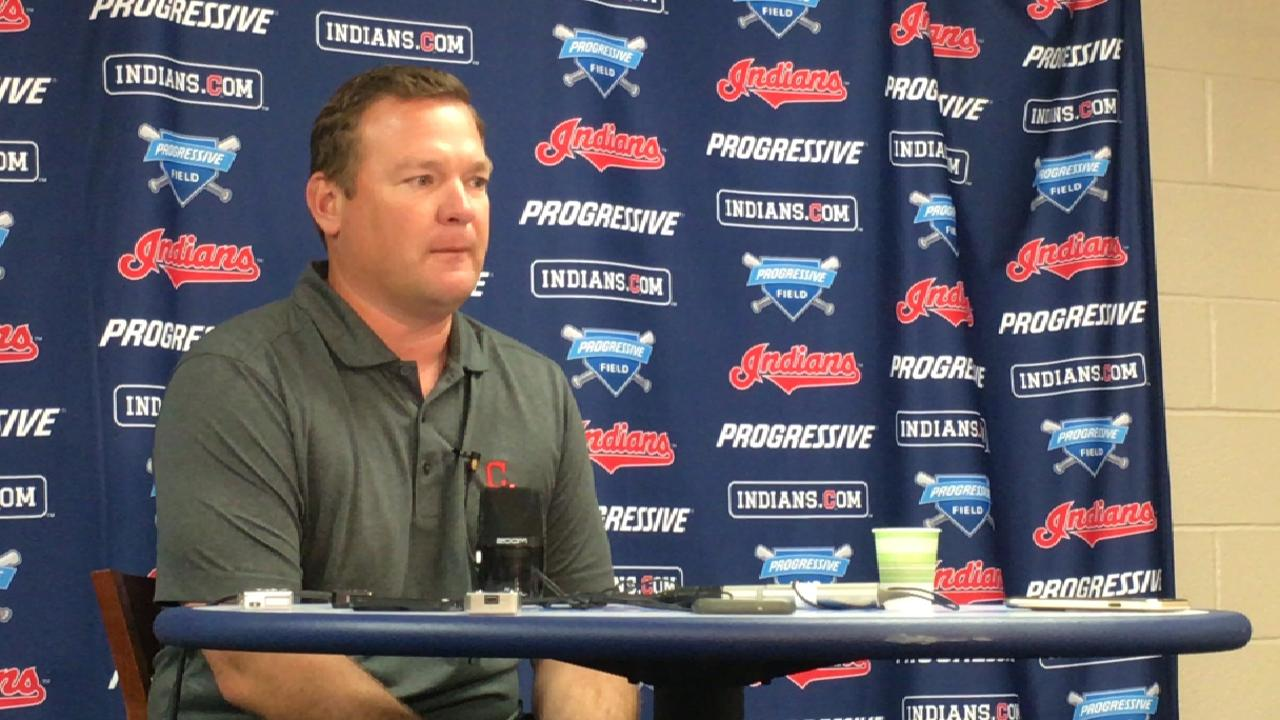 Grant reflects on Tribe's past Draft picks