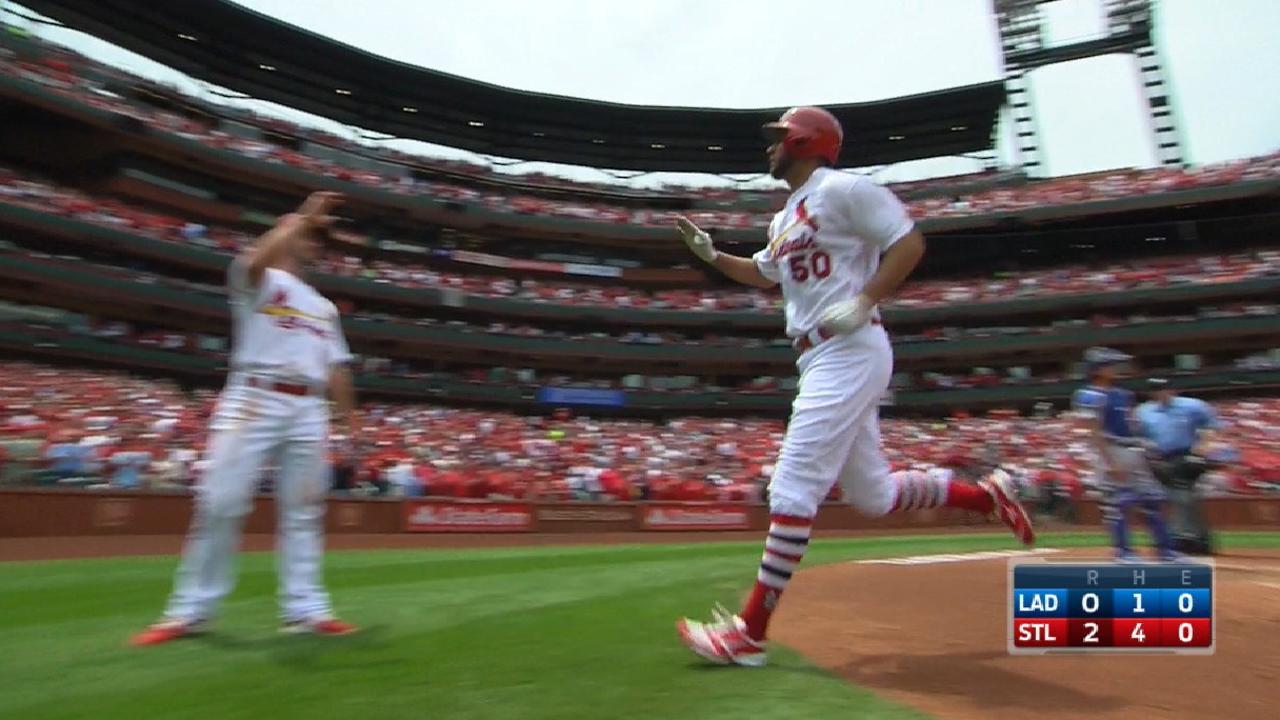 Wainwright's big day vs. Dodgers
