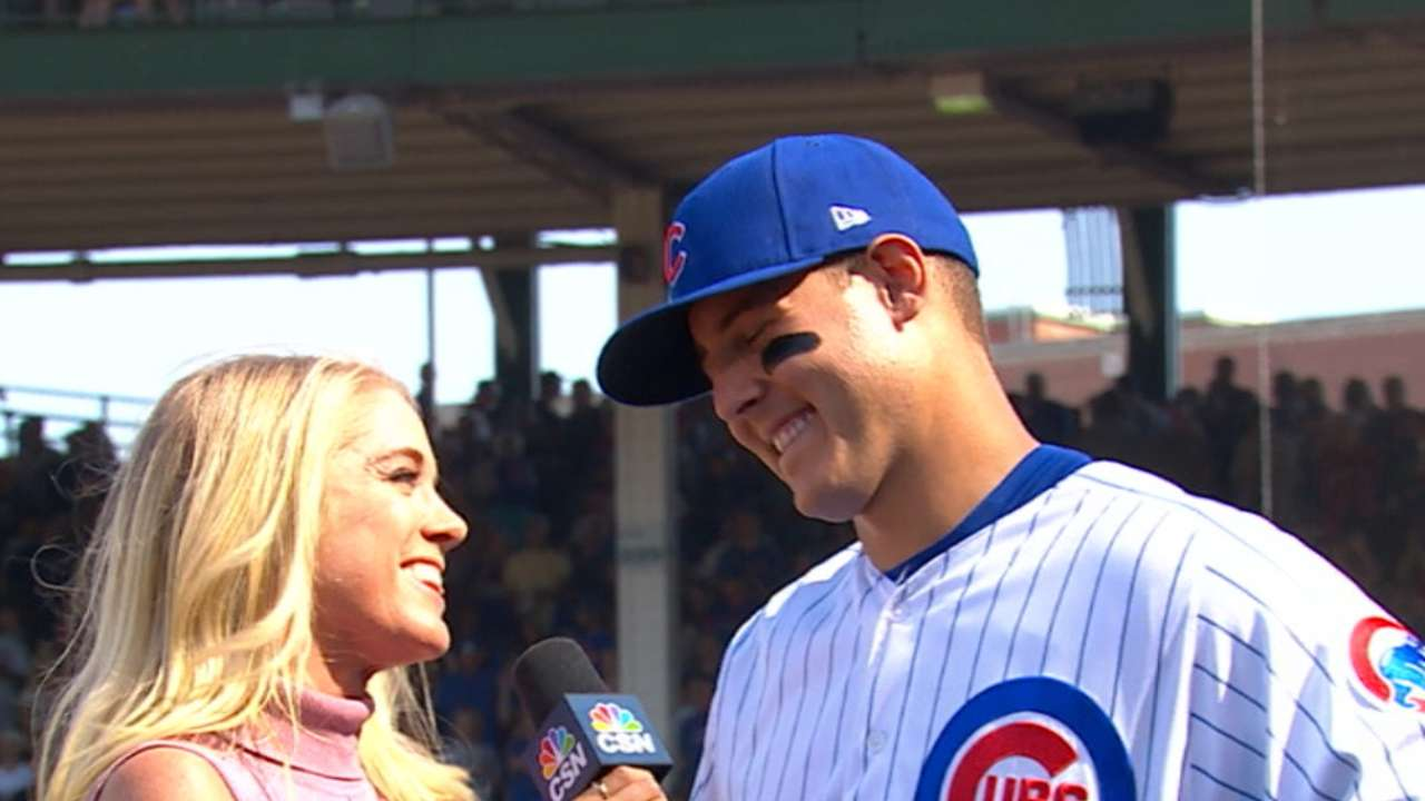 Rizzo on the 3-2 win