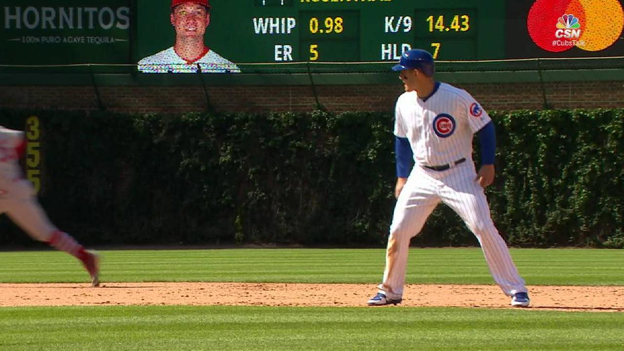 Rizzo's heads-up baserunning