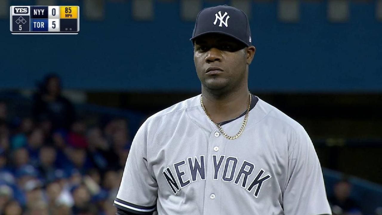 Pineda strikes out Maile